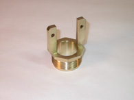 CNC machined Aluminum Nickel Bronze part