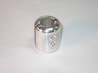 CNC machined Aluminum part