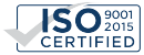 ISO 9001:2015 logo for North East Precision